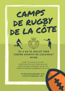 Nyon rugby club camps